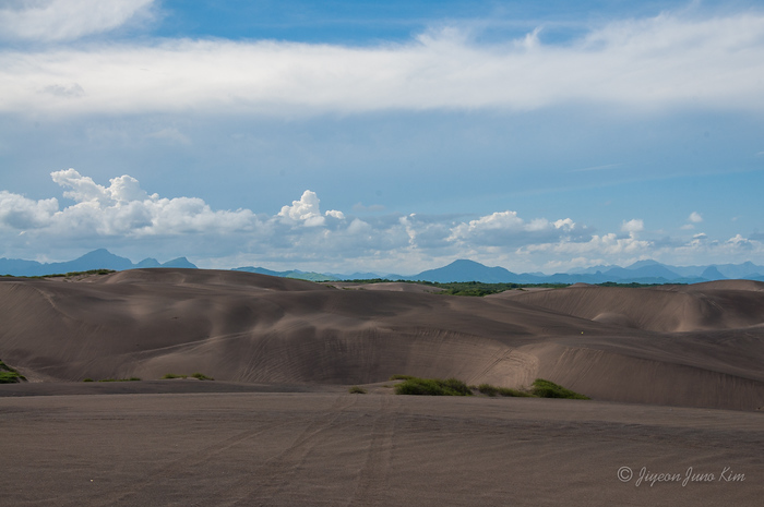 Sand dunes of Chachalacas