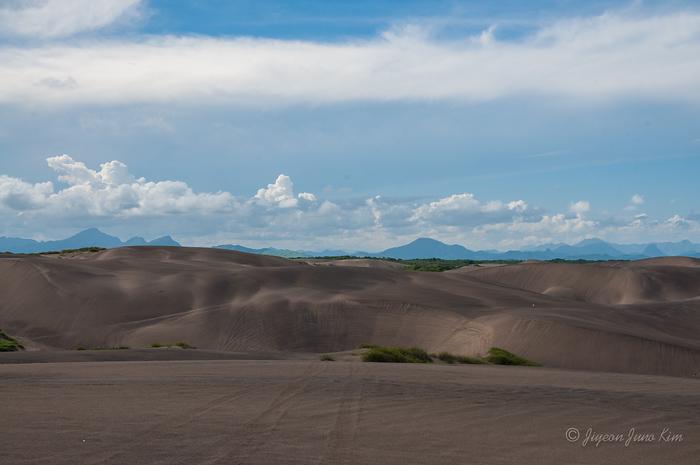 Sand dunes of Chachalacas