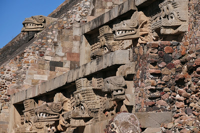 Ruins of Teotihuacán near Mexico city