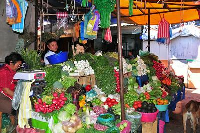 Cute little town Tepoztlán near Mexico city