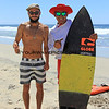 Dion_Agius_Juan_Ramos_4151.JPG  <br /> <br /> Aussie pro surfer, Dion Agius gave one of his surfboards to Cerritos lifeguard and local ripper, Juan Ramos.