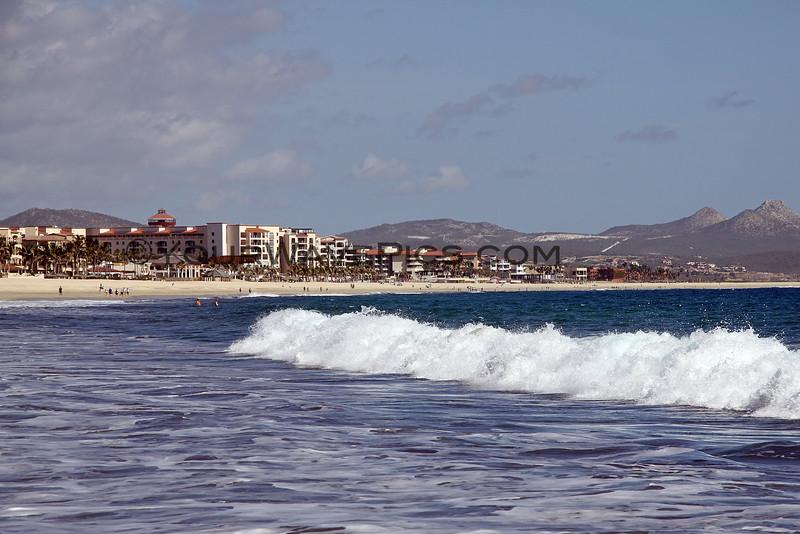 Lots of new resorts looking towards San Jose del Cabo