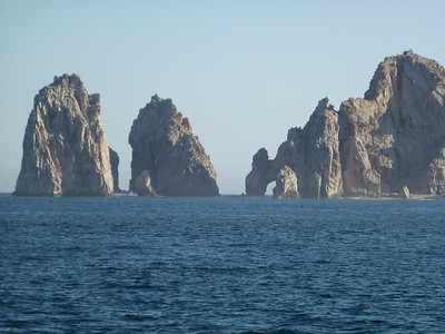 The famous Arch of Cabo...
