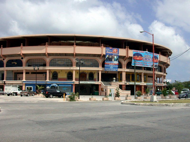 Cancun City on mainland<br /> Bull Ring