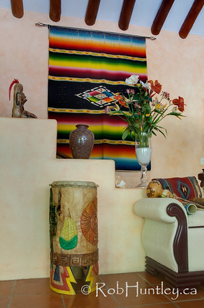 Decor at Casa Candiles, Ixtapa, Mexico © Rob Huntley
