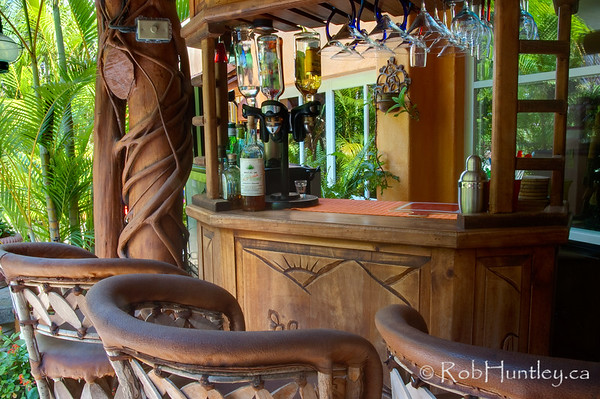 The Bar at Casa Candiles, Ixtapa, Mexico © Rob Huntley