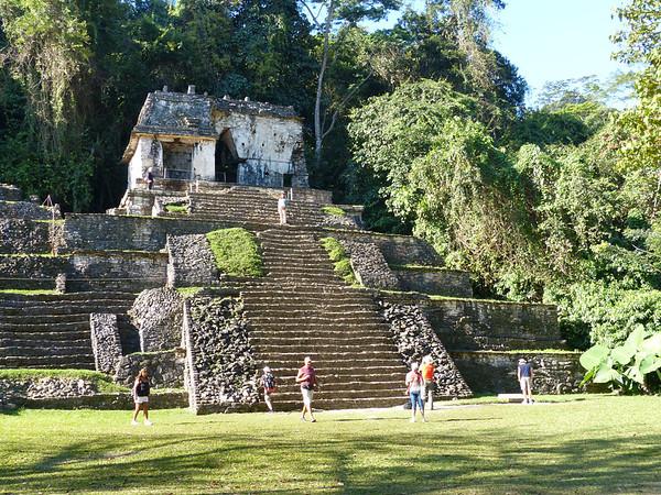 Temple XII<br /> Palenque, Chiapas, Mexico