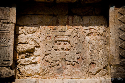 Carvings on the Platform of Venus, Chichen Itza