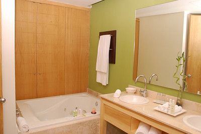 Second bedroom Jacuzzi bath