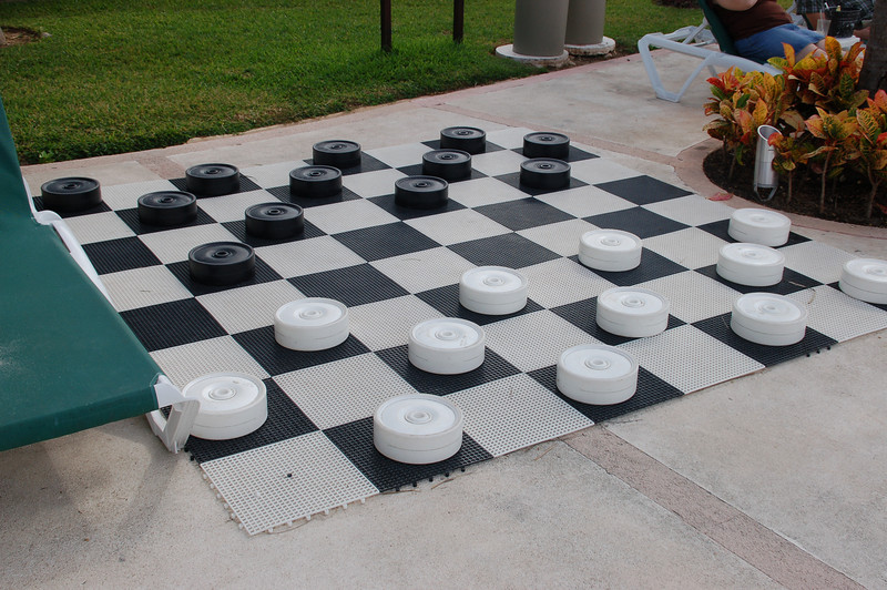 Game of Checkers anyone?