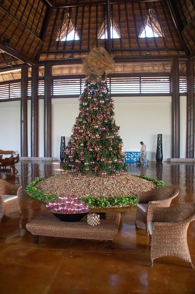 Main lobby Christmas tree