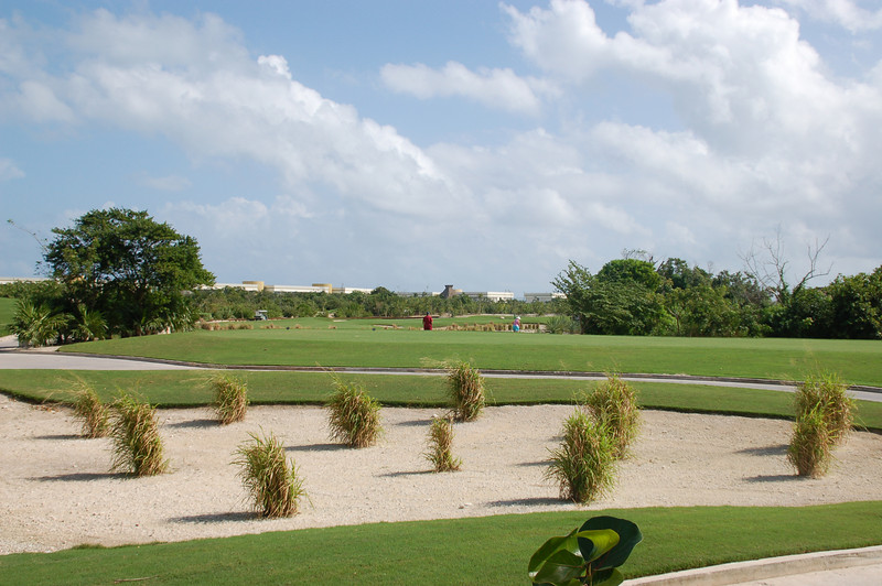 View from our terrace - 18-hole par 54 golf course by Nicklaus Design: with Club House, restaurant and Pro Shop.