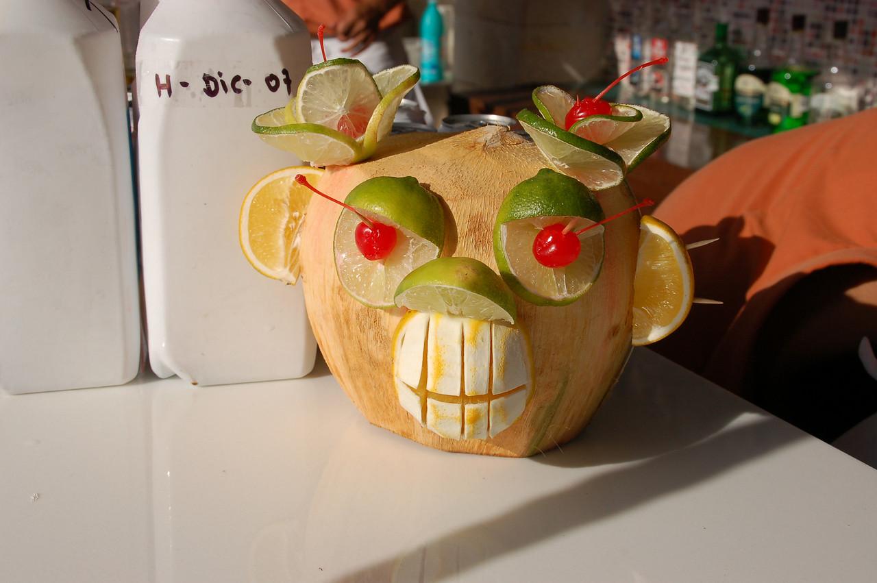 Very creative looking  drink