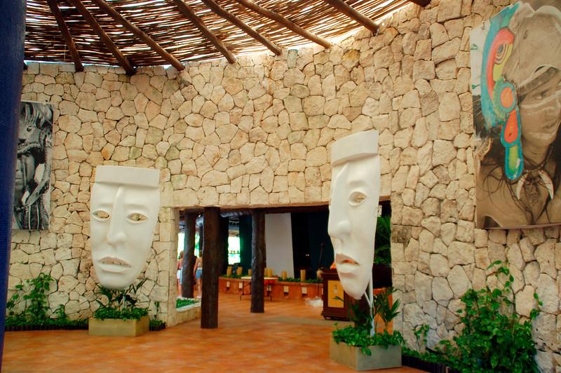Entrance to Del Lago Restaurant
