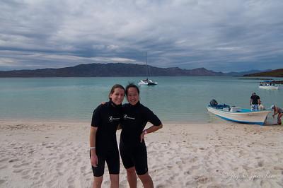 Snorkeling in Coronado Island in the Sea of Cortez
