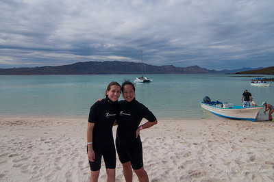Snorkeling in Coronado Island in the Sea of Cortez