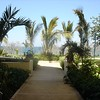 Walkway down from our room as we head to the ocean...what a fond memory!