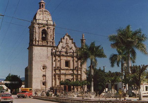 iglesia de Concordia near Mazatlan