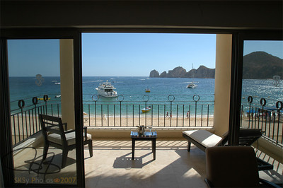 The view of Land's End, Cabo San Lucas