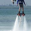 Chasing birds on the FlyBoard.