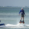 I finally get out of the water on the FlyBoard.