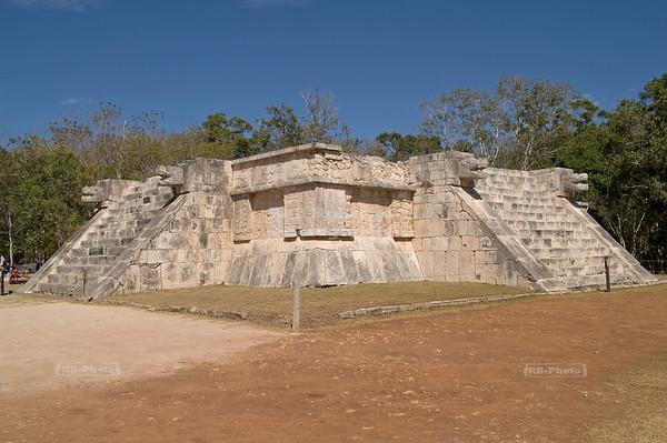 Platform of Venus, Chichén Itzá, Yucatán, Mexico