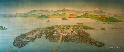 Tenochtitlan - Was the capital of Mexican civilization, founded 1325.