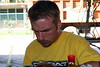 checking me gmail! it was cool having access to gmail on my cell phone. we were suppose to have wireless internet access at the bungalows but I never asked about it.