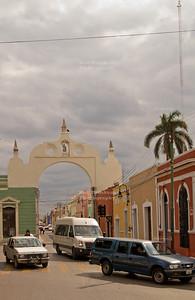Owl arch in Mérida, México