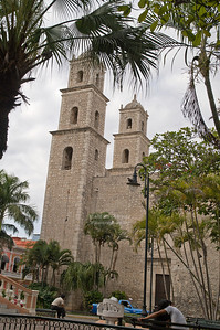 Iglesia de Jesus (Church of Jesus of the Third Order), Merida, Yucatan, Mexico