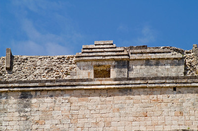 Top of the Pyramid of the Magician at Uxmal, Yucatan, Mexico