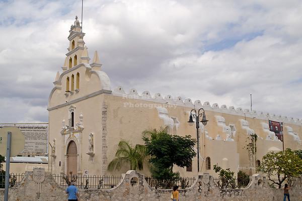 Iglesia parroquial de Santiago Apóstol, Mérida, Yucatán, México