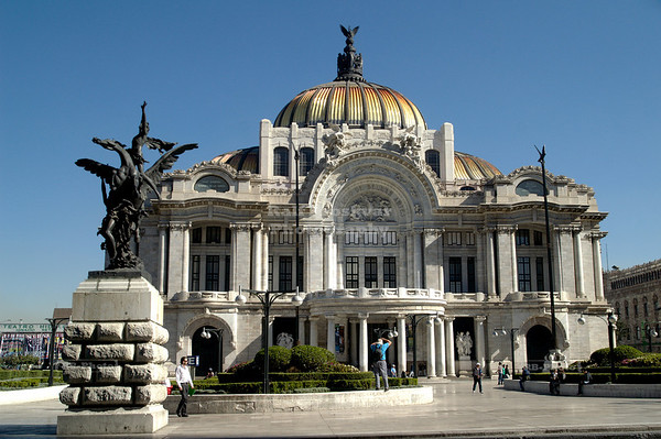 Palacio de Bellas Artes (Palace of Fine Arts) Mexico City, Mexico