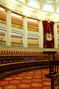 Chamber of Deputies, National Palace Mexico City, Mexico