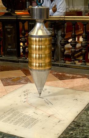 Foucault Pendulum, Cathedral Metropolitan, Mexico City, Mexico