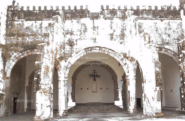 Open Chapel at Cuernavaca Catehedral, Morelos, Mexico
