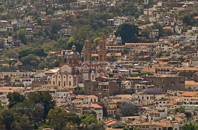 Parish of Santa Prisca y San Sebastián in Taxco de Alarcón, Guerrero, Mexico UNESCO World Heritage Site
