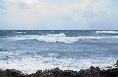 Ocean view at Xel-Ha, Yucatan, Mexico