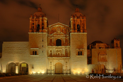 Church and former monastery of Santo Domingo, Oaxaca, Mexico