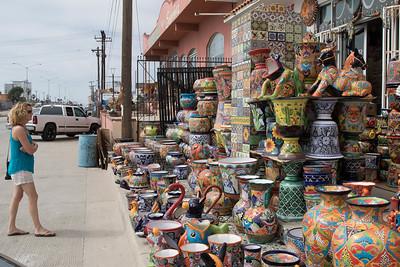 Rosarita Beach storefront, Baja California 8/01/2015