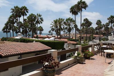 Las Gaviotas balcony view to West-South-West 8/01/2015