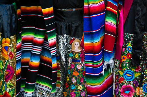 The Parachico dancer costume