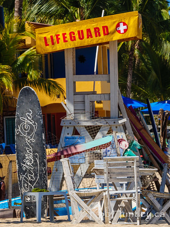Busy Lifeguard Chair