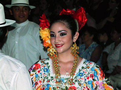 New Year Dance Festival in Merida