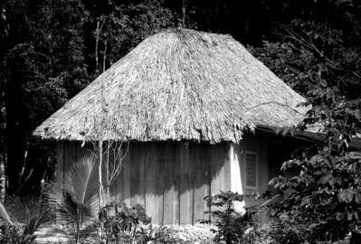 Recent Mayan Hut