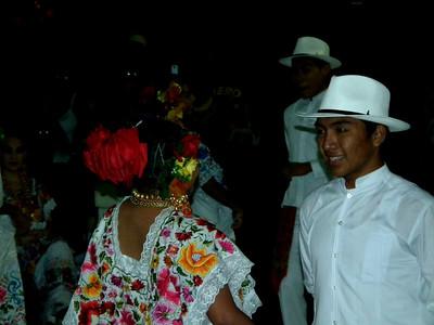 New Year Dance Festival in Merida.