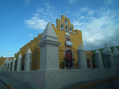 Church in Campeche.