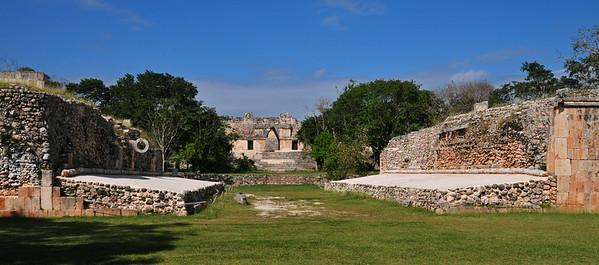 Ancient Maya city Uxmal