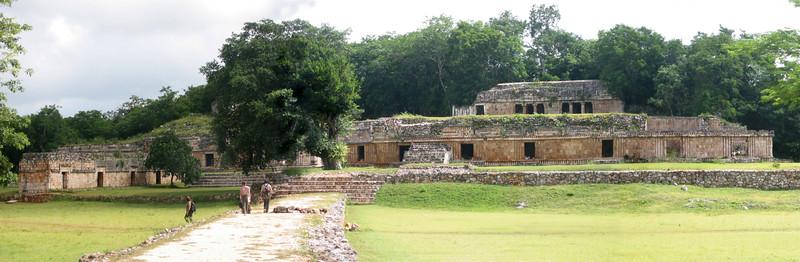 Labna. The Palace.