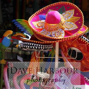 SOMBRERO VENDOR, PORT OF PROGRESSO, MEXICO, Mexico Carnival Triumph 2012 Cruise, Progresso Chichen Itza Shore Trip, DAVE HARBOUR PHOTO